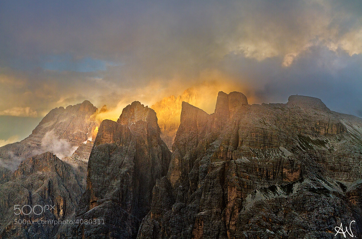 Photograph Mountain burning by Andrea Visca on 500px