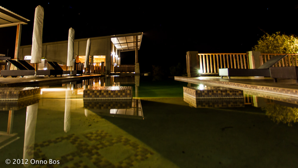 Photograph South Africa night at the swimming pool by Onno Bos on 500px