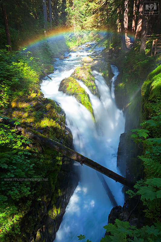 Photograph Sol Duc Falls by Nhut Pham on 500px