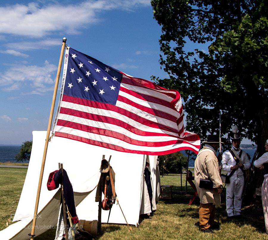 1812 American Flag Sackets Harbor, NY