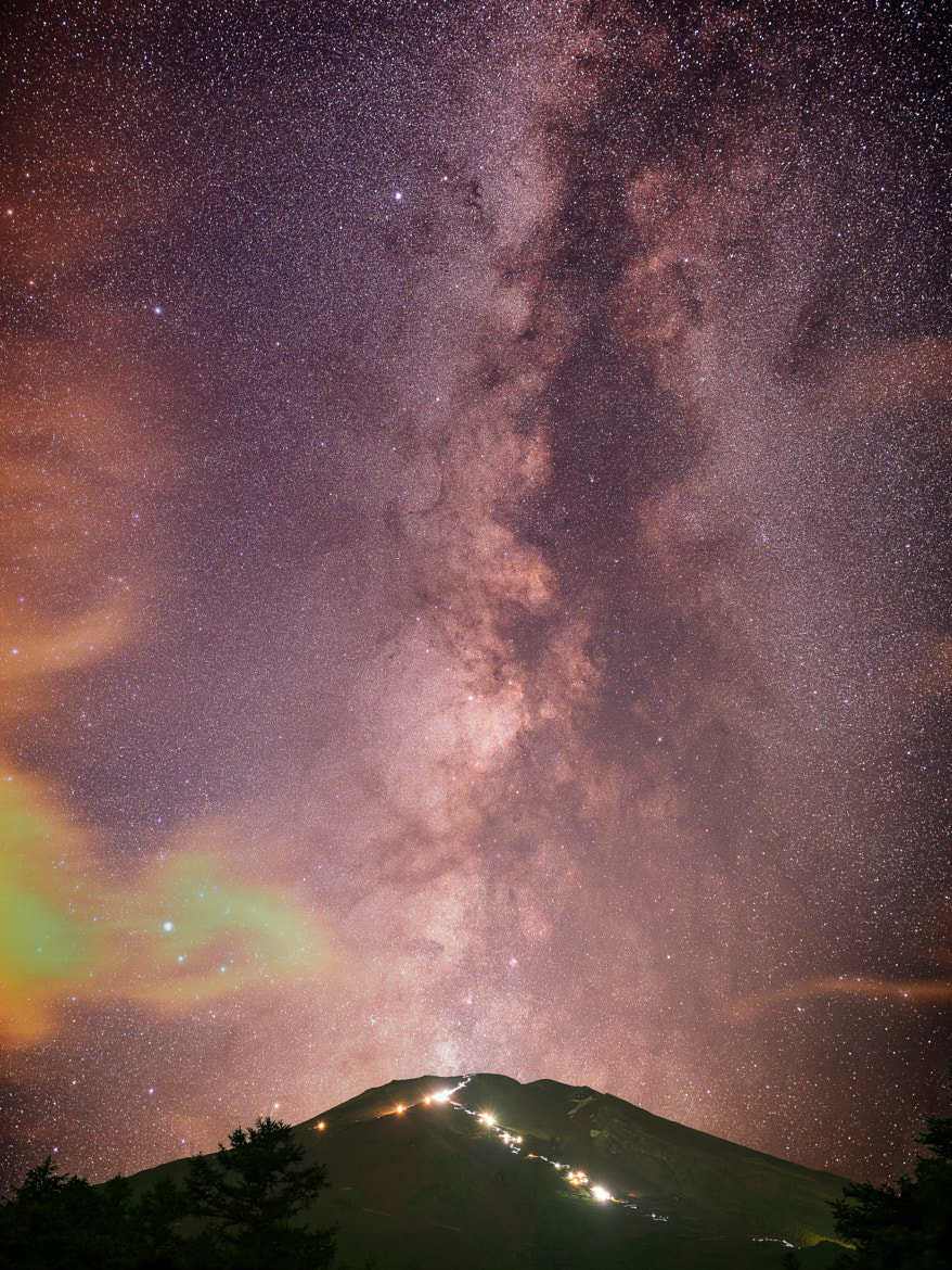 Photograph Galactic Volcano by Yuga Kurita on 500px