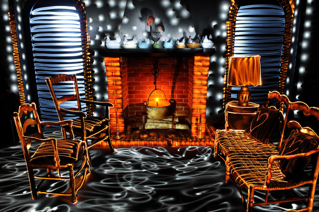 Photograph * The bright fireplace * by clement jousse on 500px
