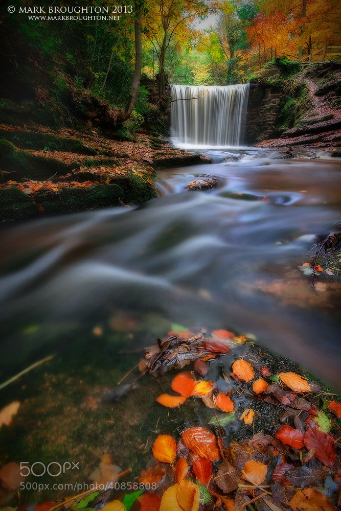 Photograph Slow Water by Mark Broughton on 500px