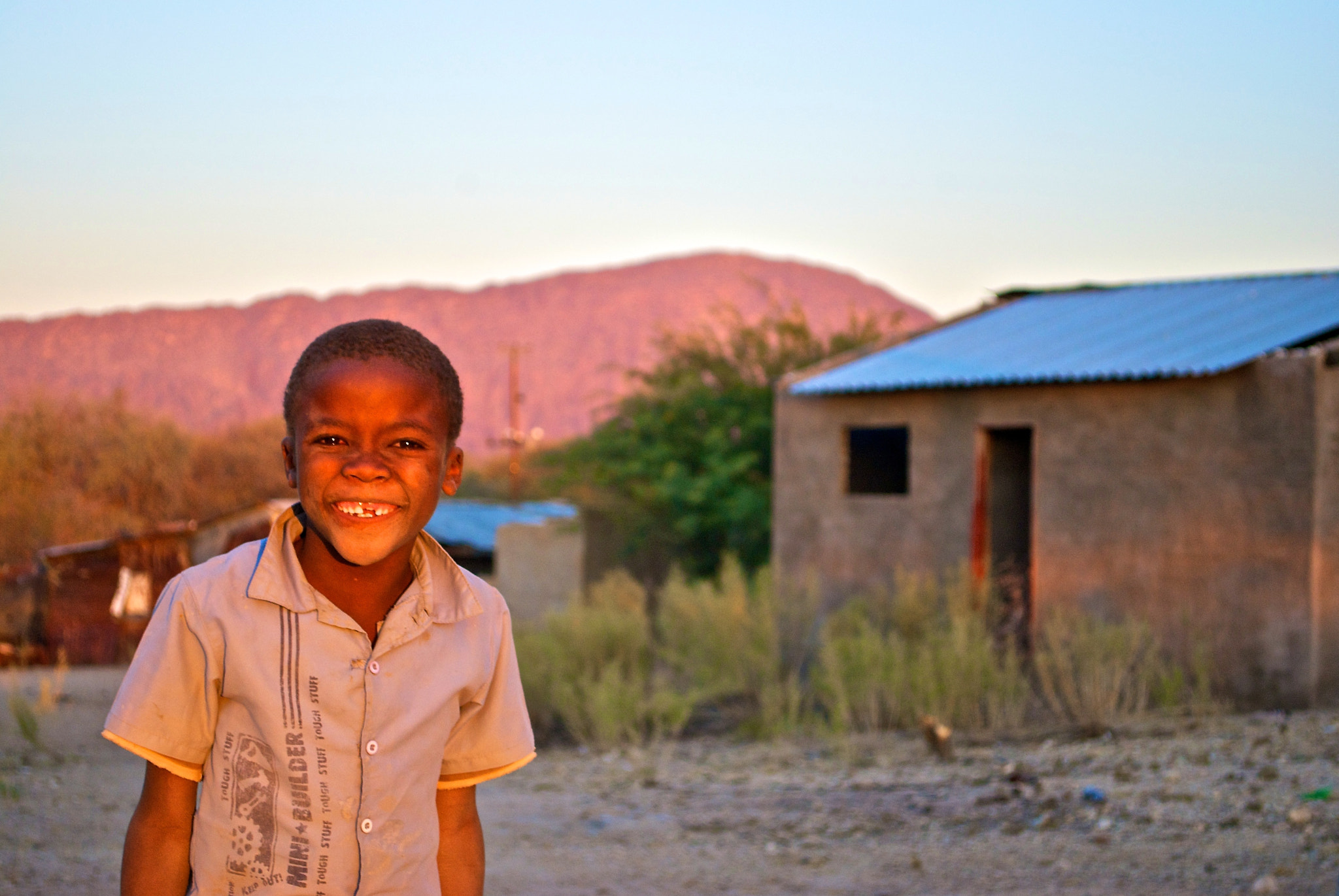 Photograph Namibian Smile by Seb Loram on 500px