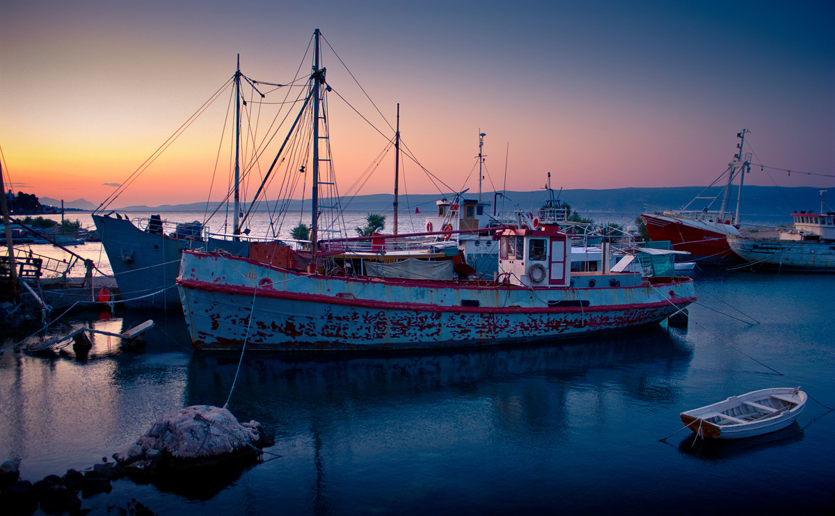 Photograph Rusty ships by Ivan Galic on 500px