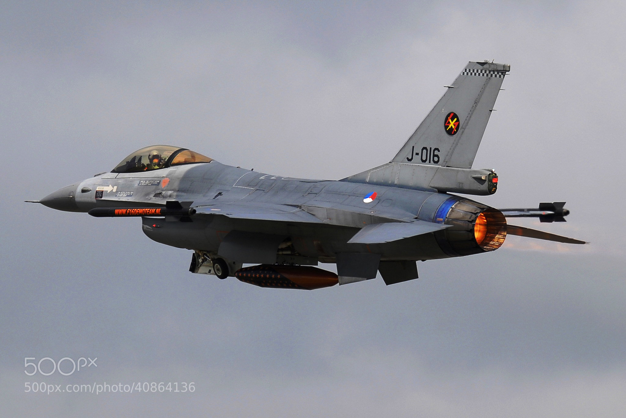 Photograph RNLAF F-16 by Jaap Zwagemaker on 500px
