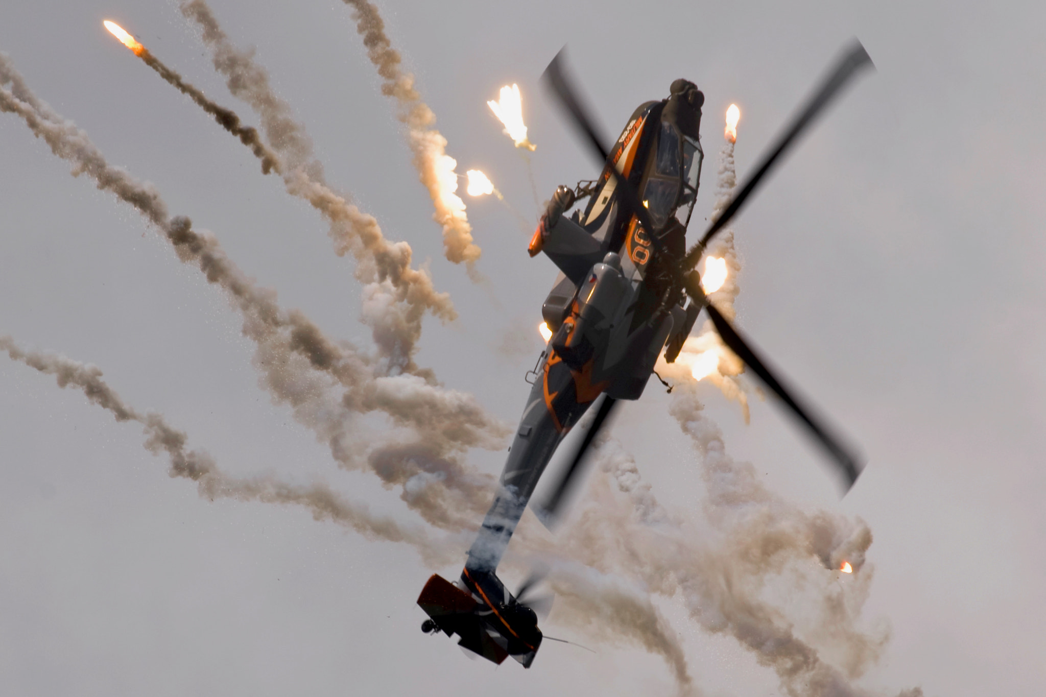 Photograph Apache droping Flare by Jaap Zwagemaker on 500px