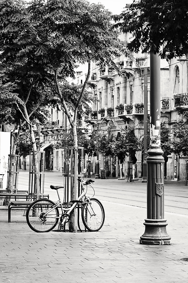 Photograph Bike in Jaffo St. by Viviane Nathan on 500px