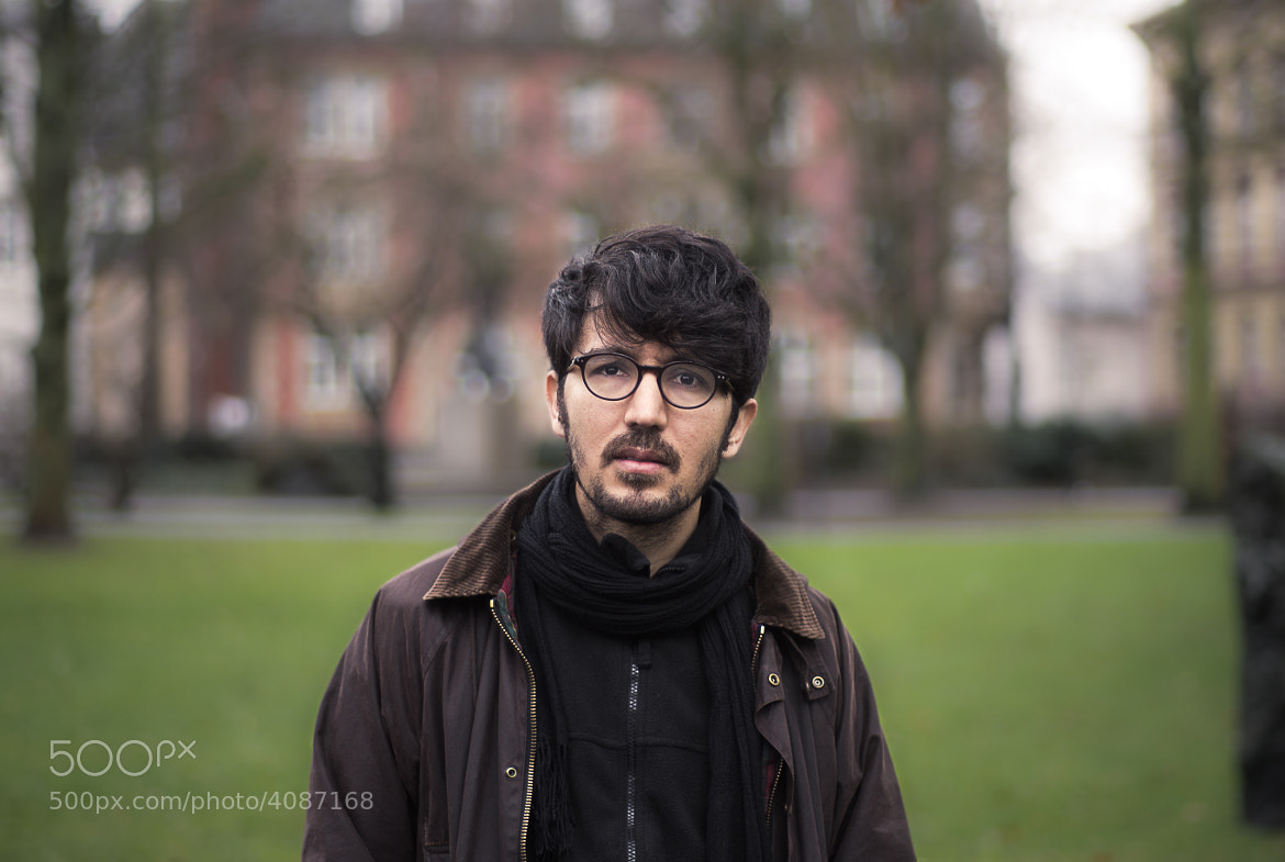 Photograph portrait if a philosopher by Andreas Pe on 500px