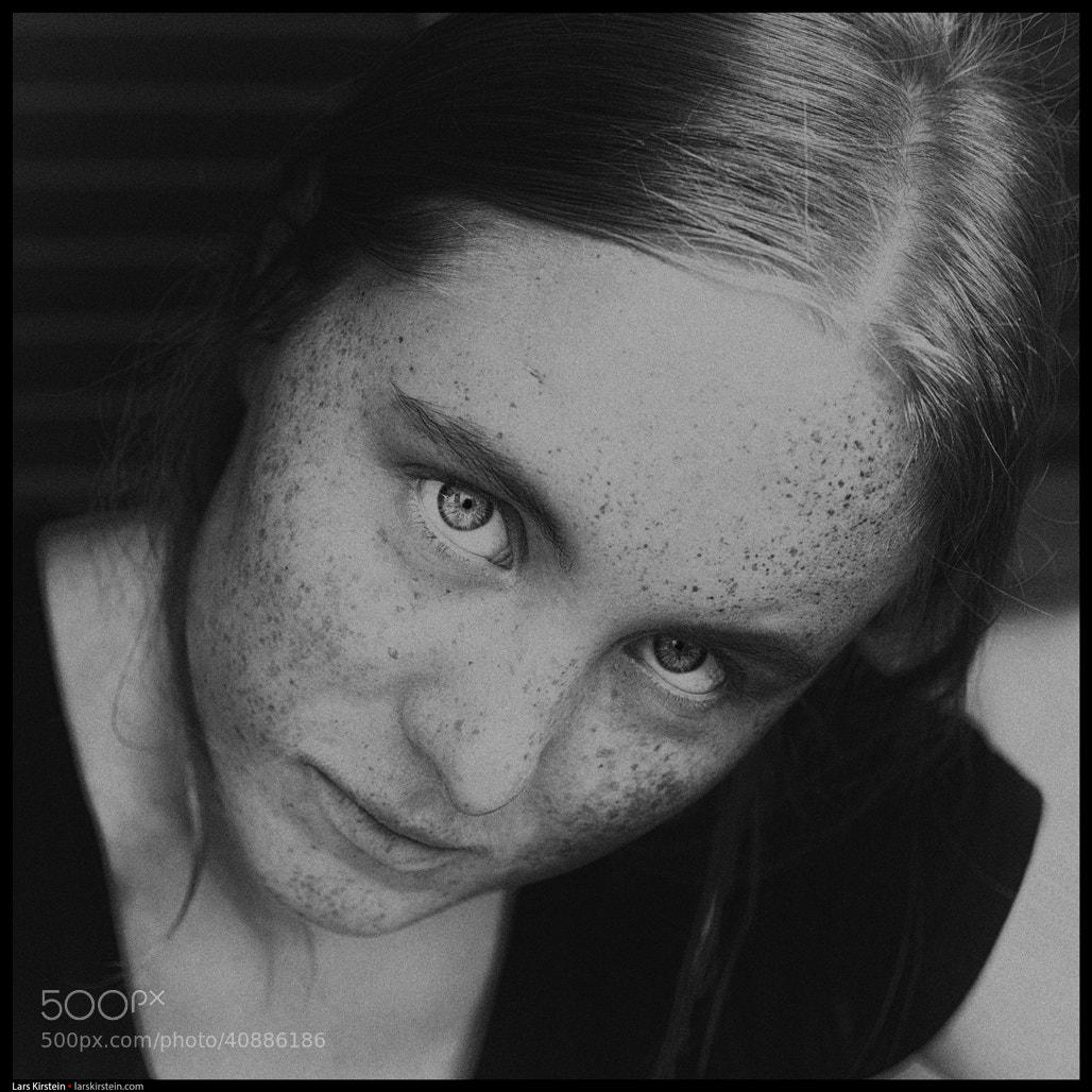 Photograph Girl Portrait IX by Lars Kirstein Andersen on 500px