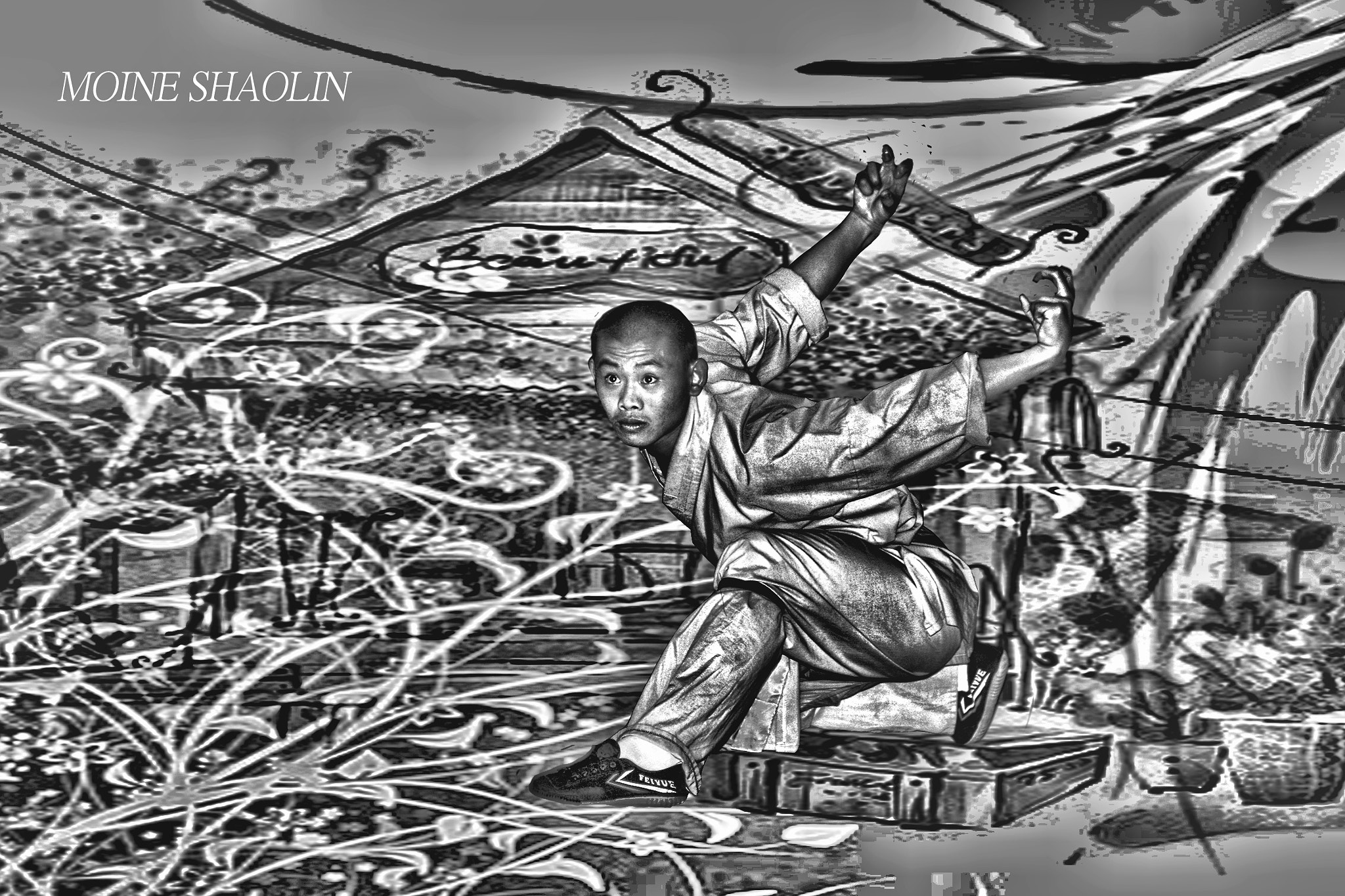 Photograph SHAOLIN by Pascal Chollet on 500px