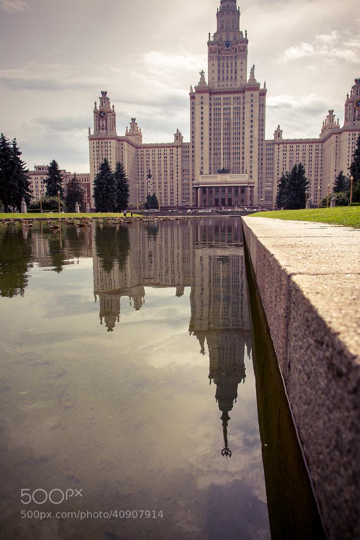 Photograph MGU by Maxim Mironov on 500px