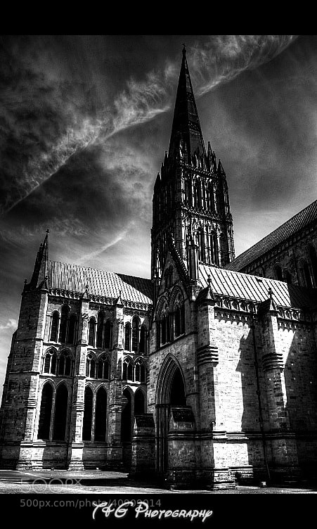 Photograph Cathederal b/w by T&G Photography  on 500px