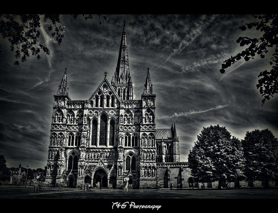 Photograph Salisbury cathedral by T&G Photography  on 500px