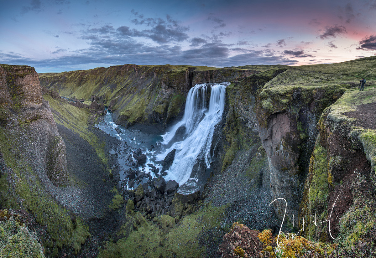 Photograph Waterfall Fagrifoss in south Iceland by Roberto Iván Cano on 500px