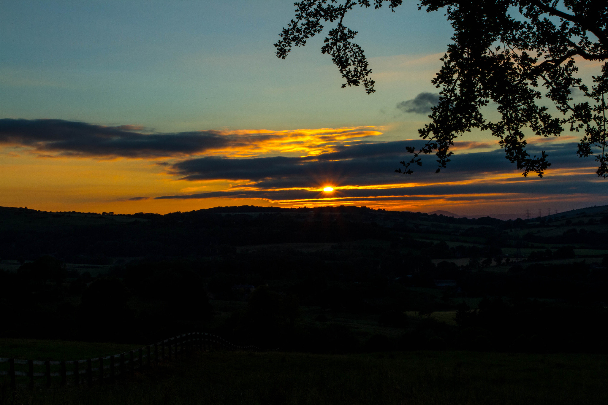 Photograph Sunset in the Cotswolds by Naomi Turner on 500px