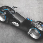 Постер, плакат: Light cycle made by Parker Brothers Choppers TRON by Chensan