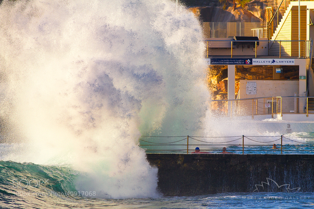Photograph KaBoom, Bondi Icebergs by Matt Lauder on 500px