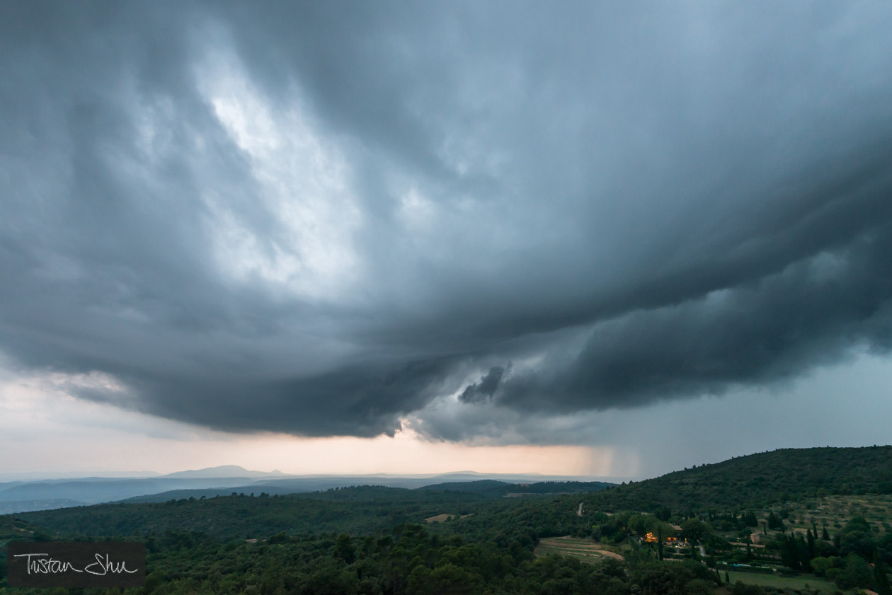 Photograph Summer storm in Provence by Tristan Shu on 500px