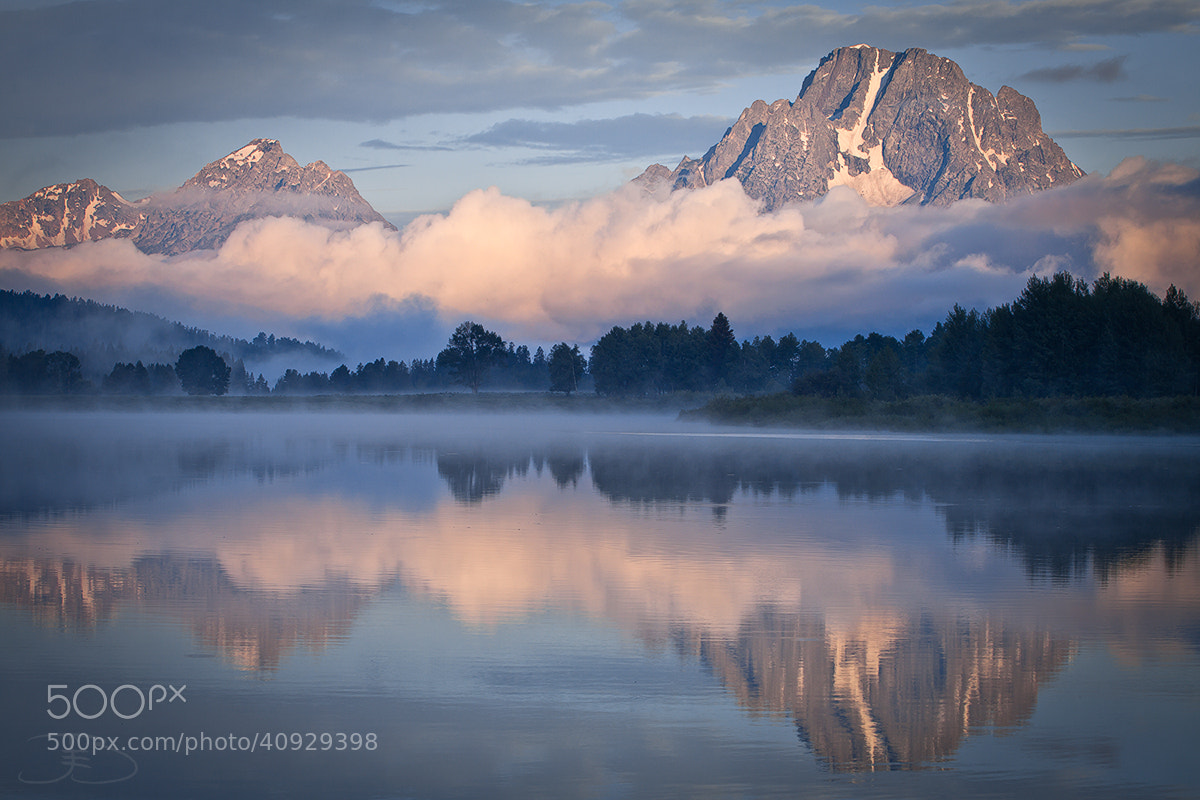 Photograph Oxbow Bend in Grand Teton NP by Joseph Balcken on 500px