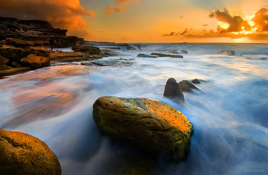 Photograph Golden Sunrise @ North Maroubra by MONSTERMICKY ! on 500px