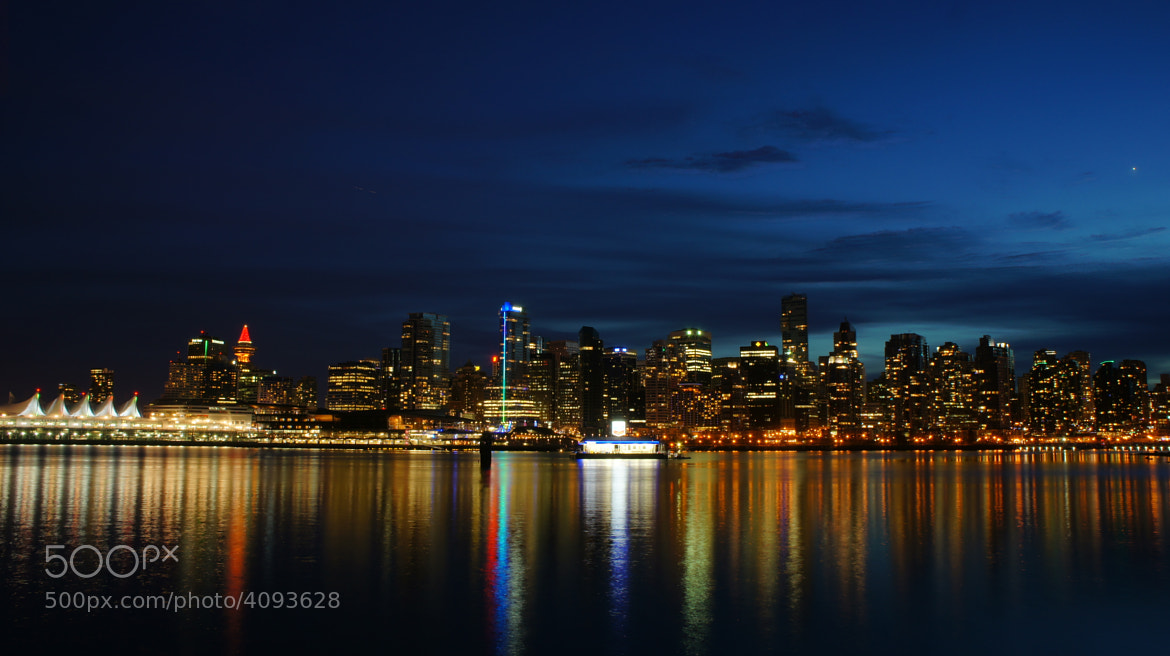 Photograph Vancouver in Dusk by Martin Grančič on 500px