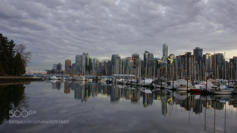 Photograph Vancouver Before Dusk by Martin Grančič on 500px