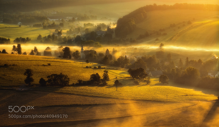 Photograph Church in the valley by Paweł Uchorczak on 500px