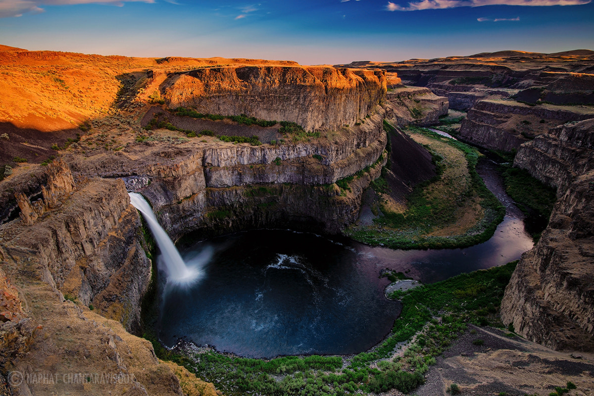 Photograph Palouse Falls by Nae Chantaravisoot on 500px