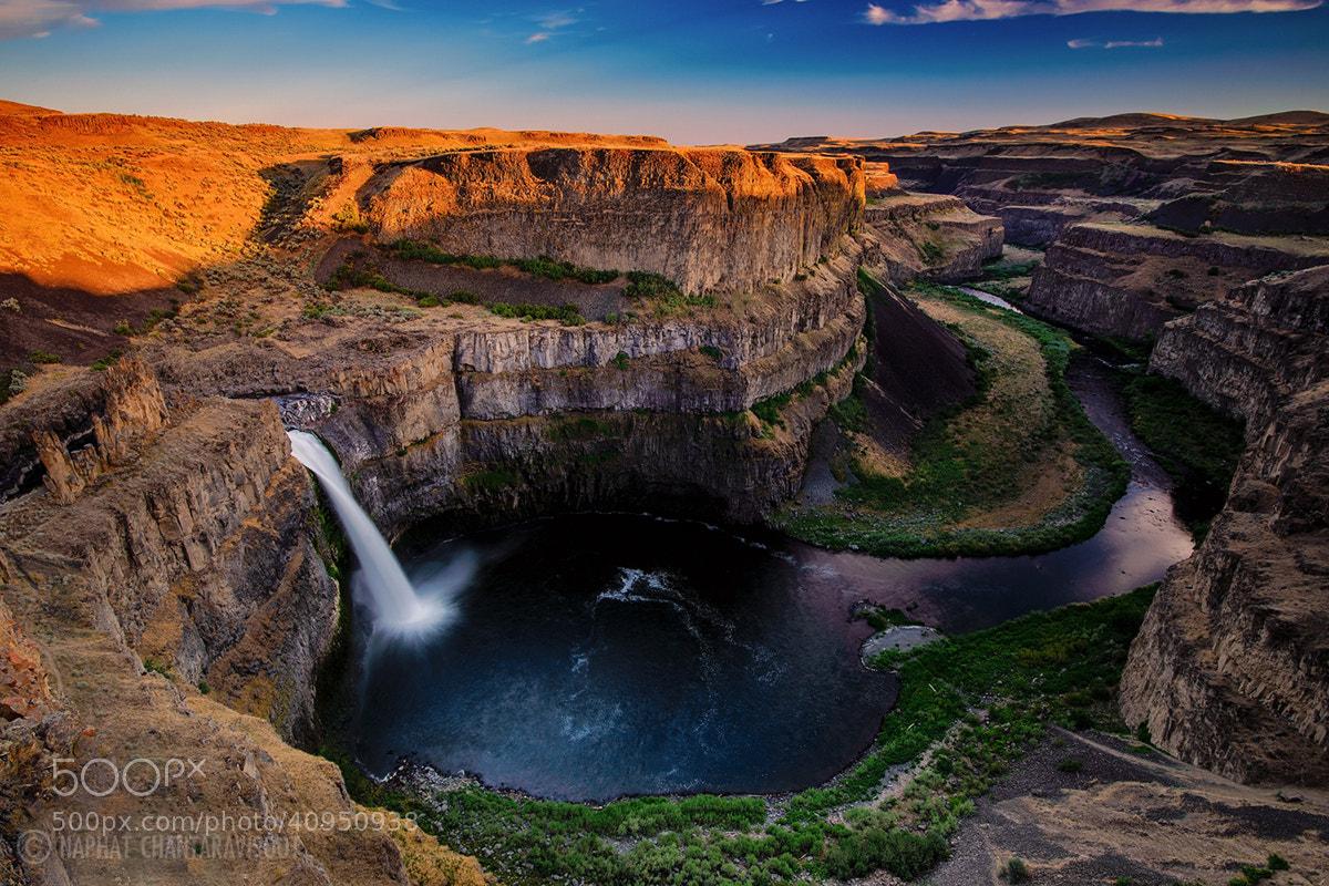 Photograph Palouse Falls by Nae Chantaravisoot on 500px