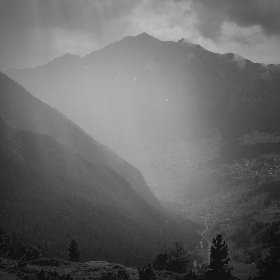 Rain in Val D'Ayas