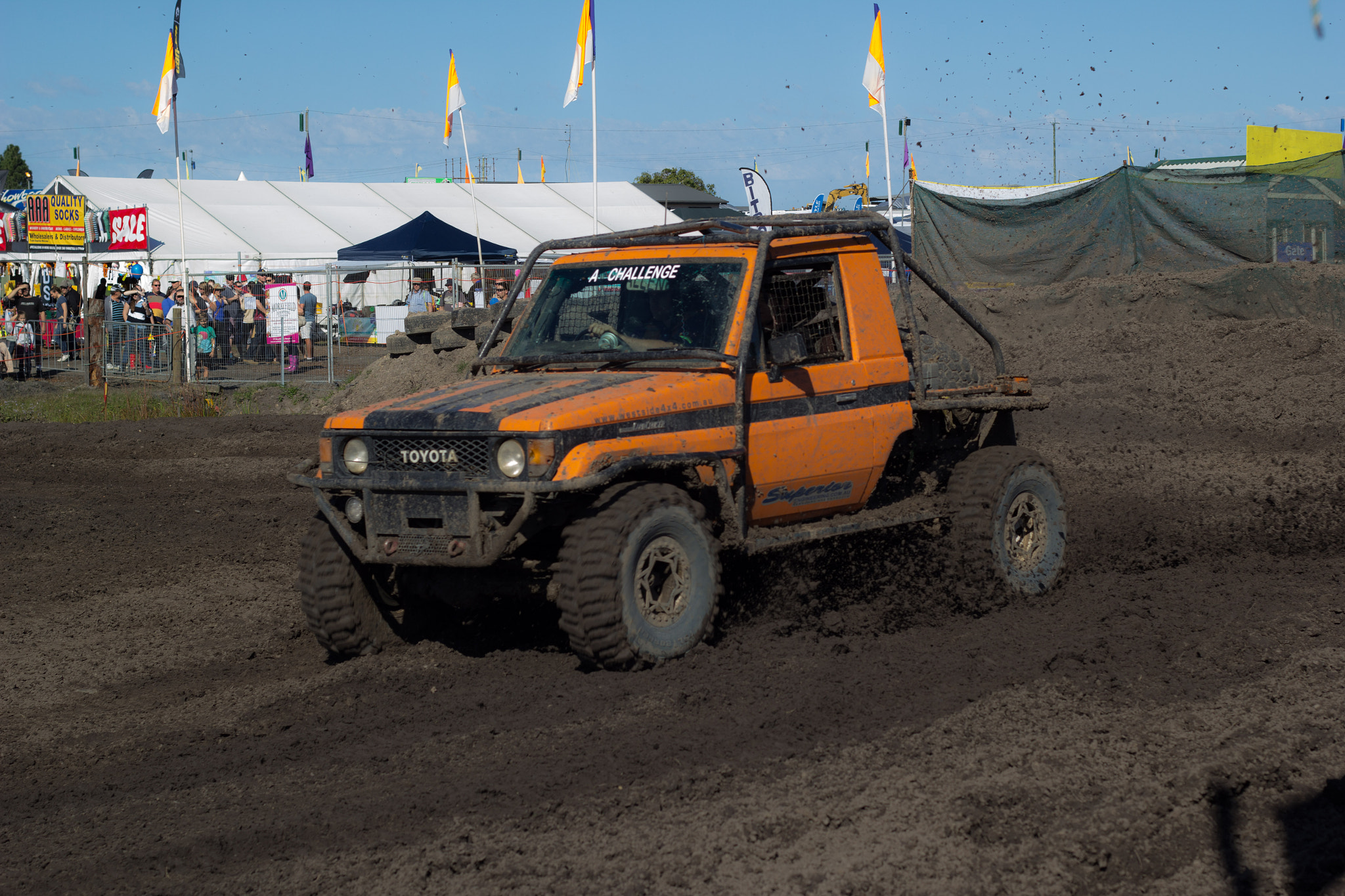 Photograph Orange off-road by Trevor Gensch on 500px