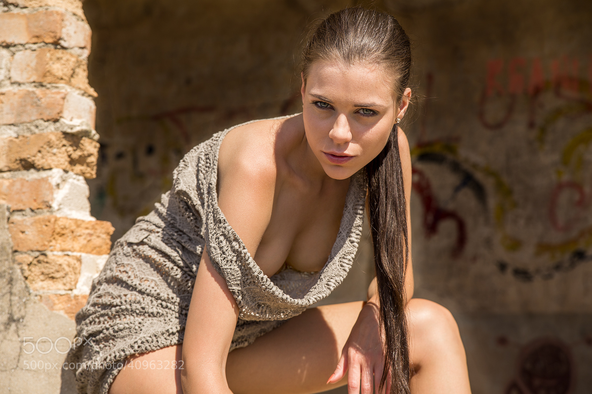 Photograph Cleavage by Guenter Stoehr on 500px