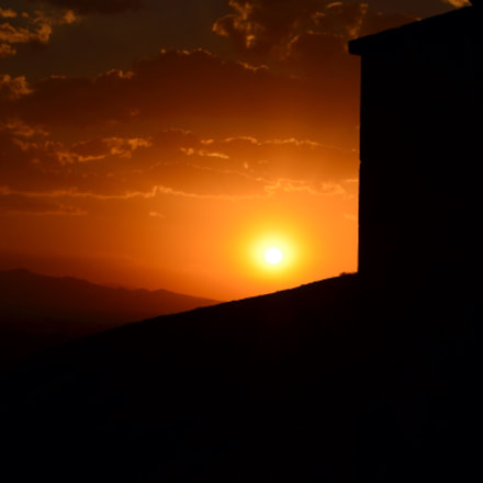 Sunset in Armenia