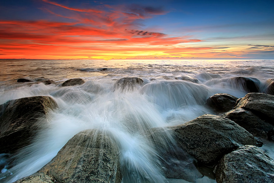 Photograph Stoney Beach by Agoes Antara on 500px
