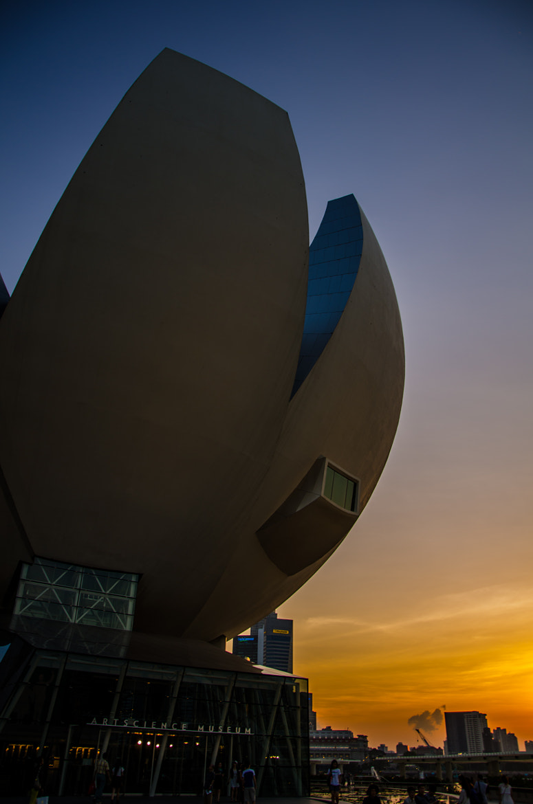 Photograph Art Science Museum - Setting Sky by Wayne Wee Li Wei on 500px