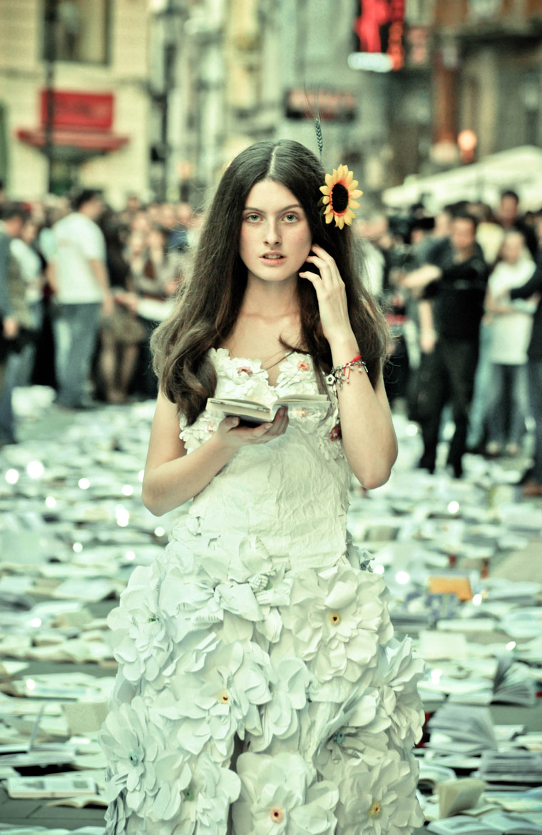 Photograph Paperdress by Diana Stanciu on 500px