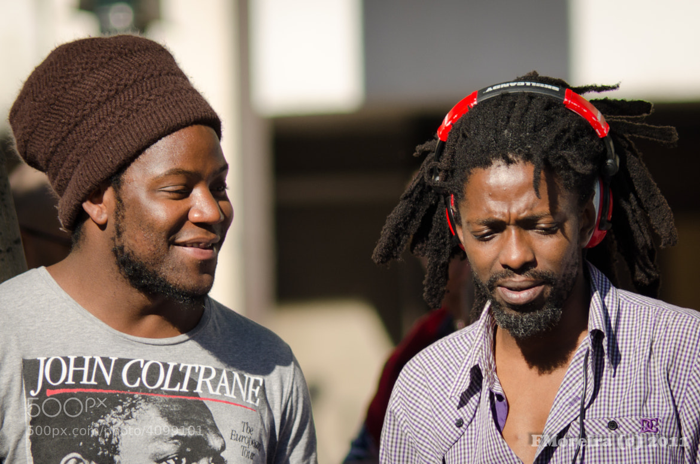 Photograph Street DJ and Jazz Singer by Fernando Moreira on 500px