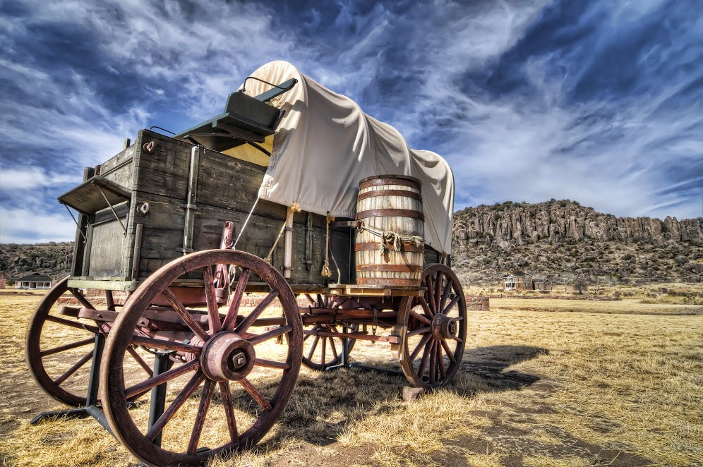 Photograph Historic Fort Davis Wagon by AustinPixels   on 500px