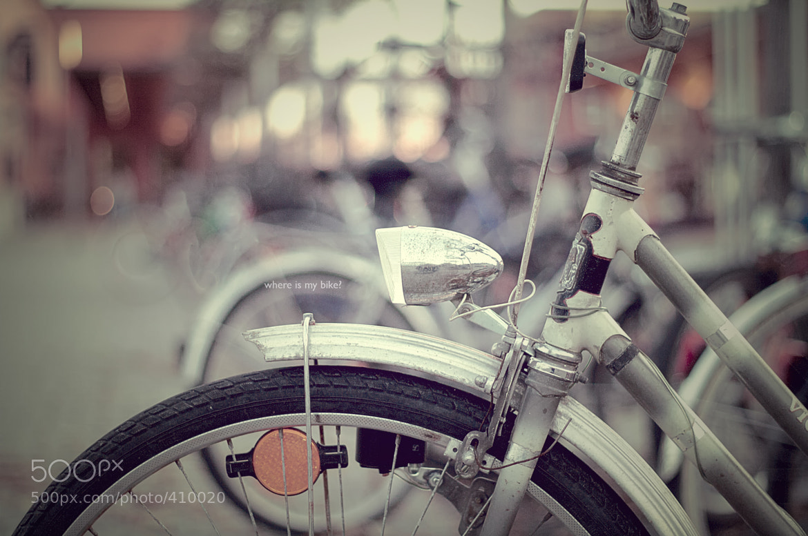Photograph where is my bike? by Christopher Wesser on 500px