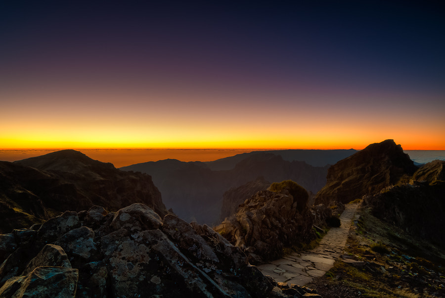 Photograph Pico do Areeiro Sunset by Magnus Larsson on 500px