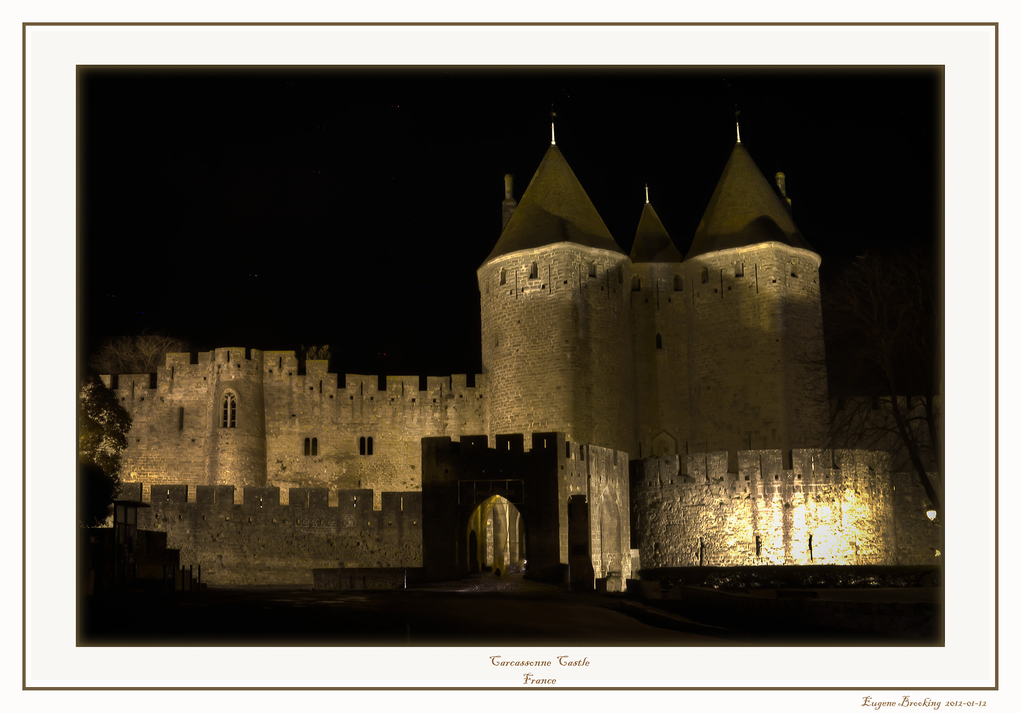 Photograph Carcassone Castle by Gene  Brooking on 500px