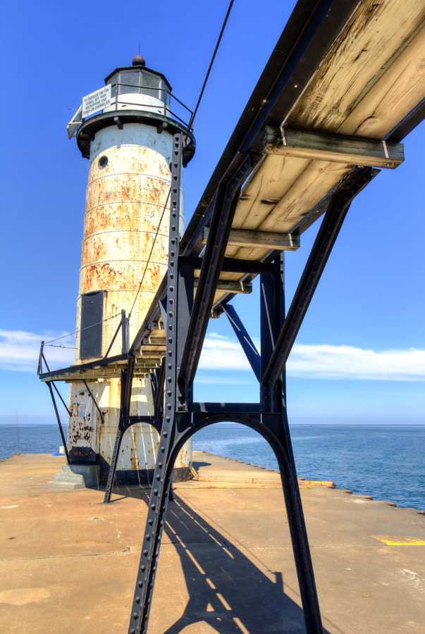 Manistee Pierhead Light