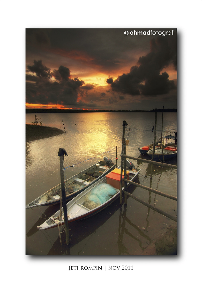 Photograph BOAT & SUNSET II by Ahmad ikram Mohamed on 500px