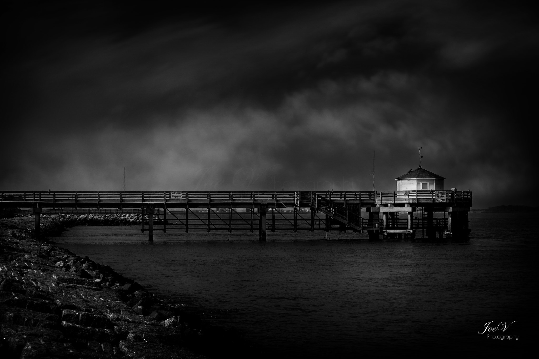Photograph The Pier by Joe V on 500px