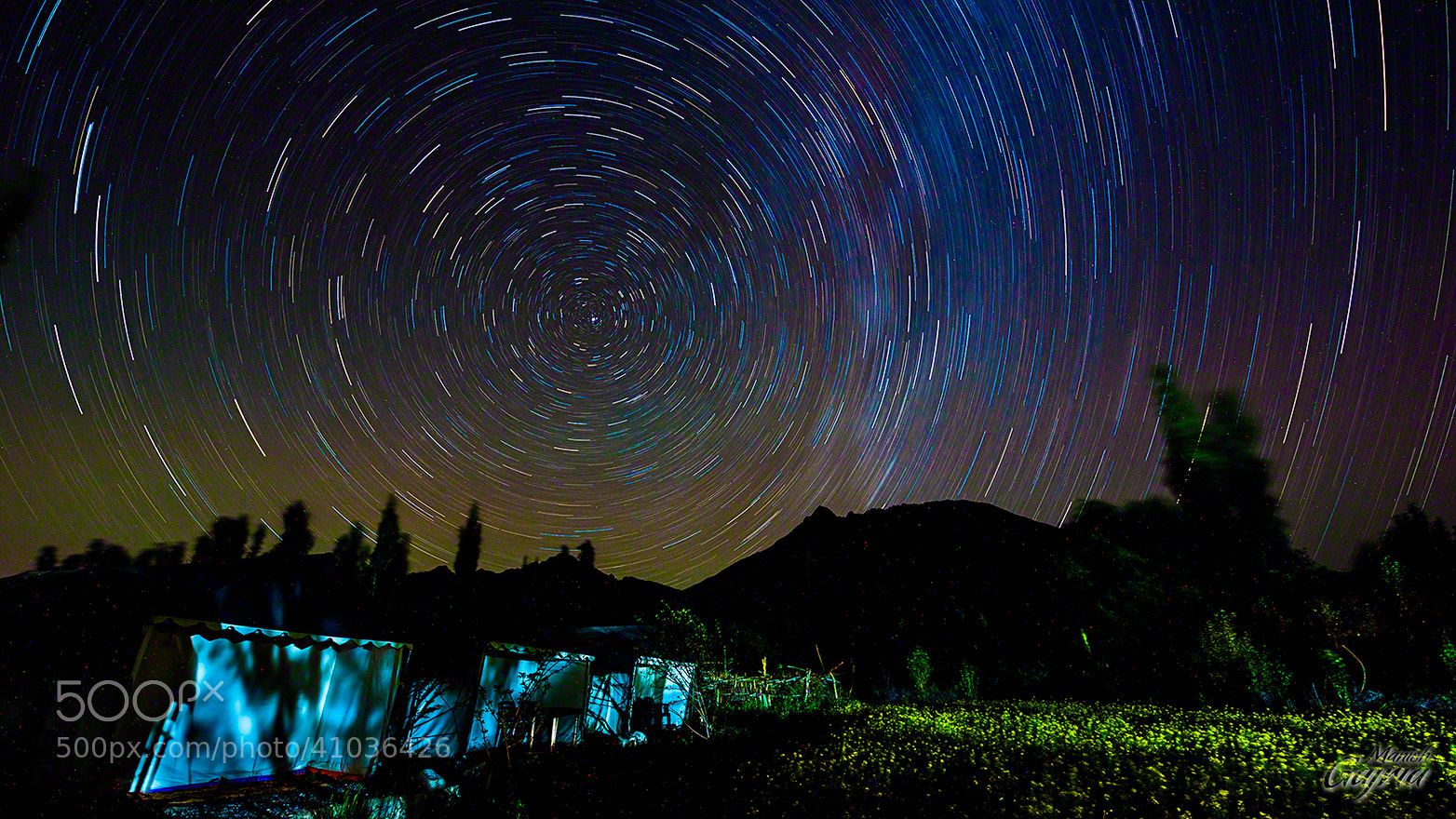 Photograph A Night at Nubra by Manish Gajria on 500px
