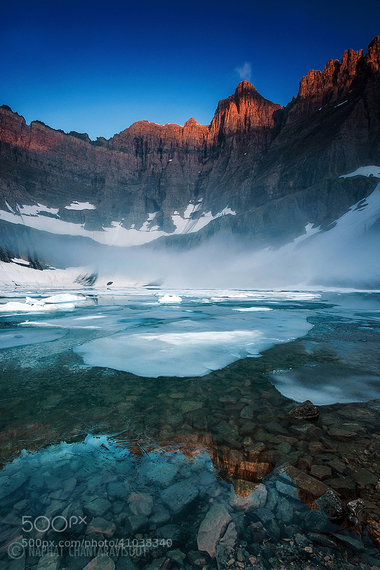Photograph Iceberg Lake by Nae Chantaravisoot on 500px
