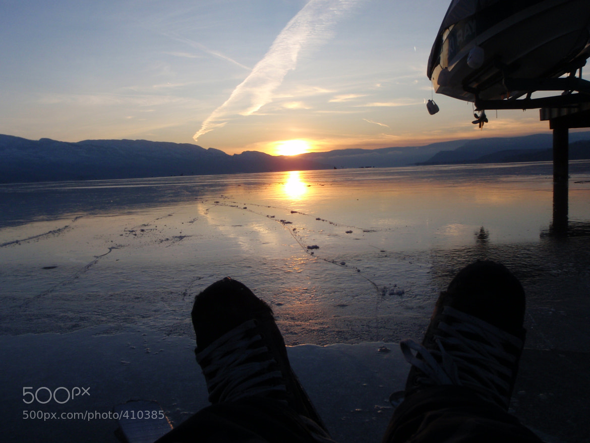 Photograph Ice Skates in the Sunset by Drew S on 500px