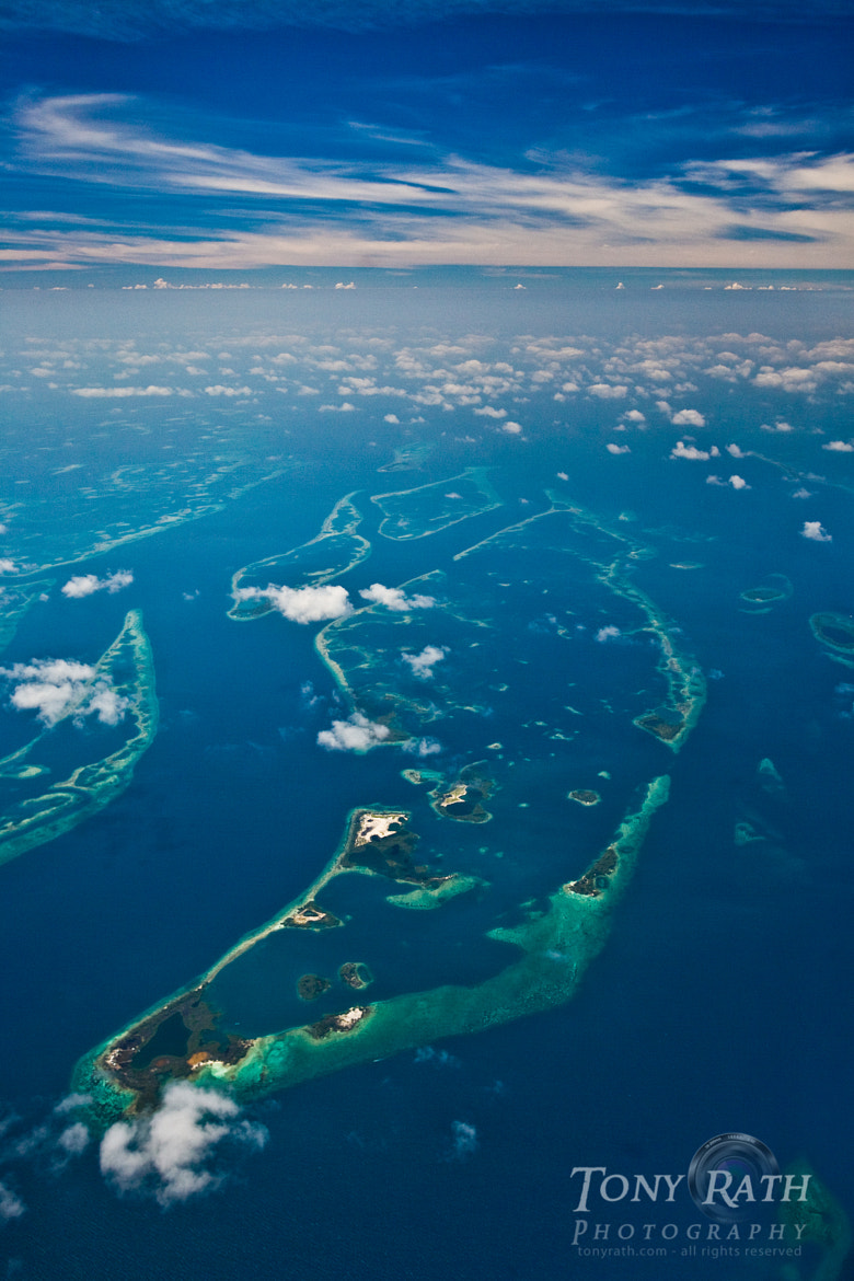 Photograph Belize Barrier Reef from 10,000 ft. by Tony Rath on 500px