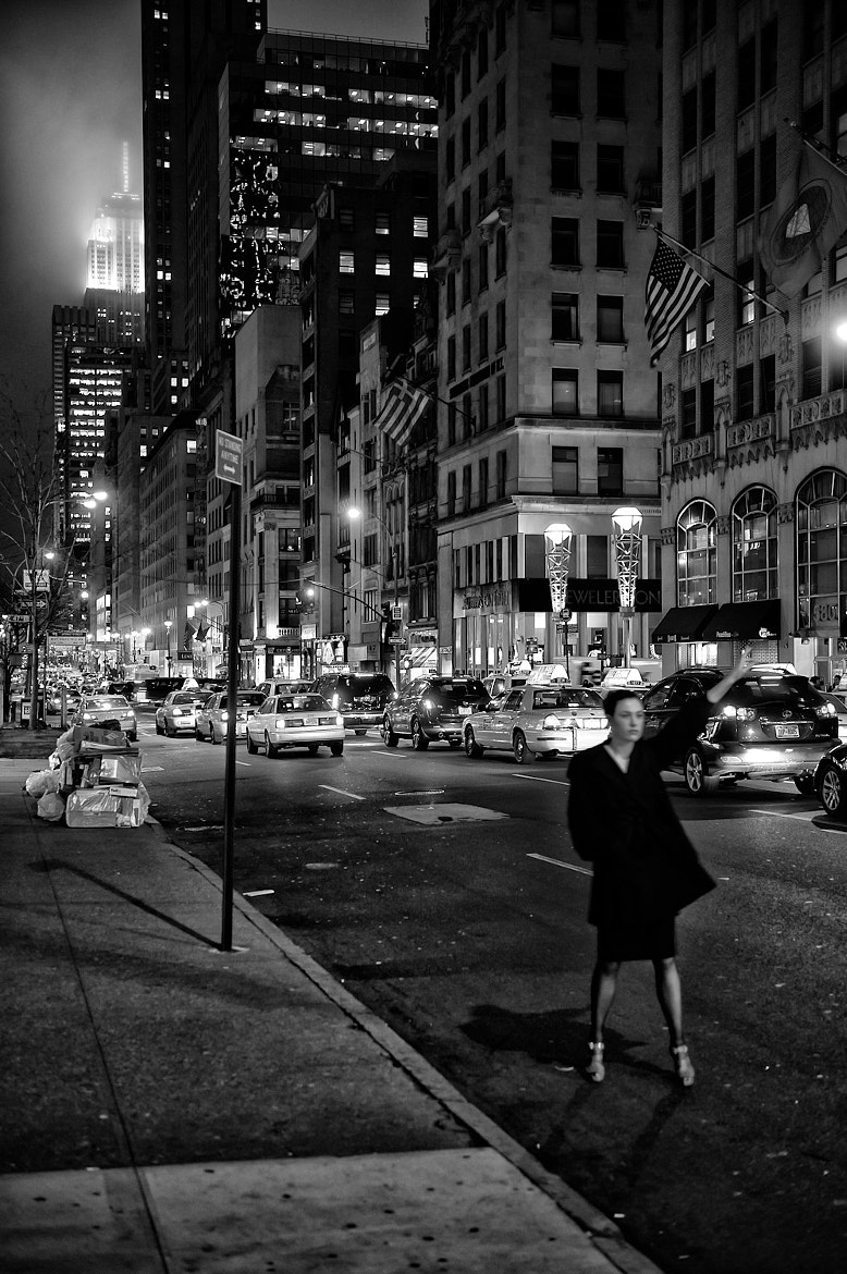 Photograph New York Taxi Girl by Patrick Ludolph on 500px